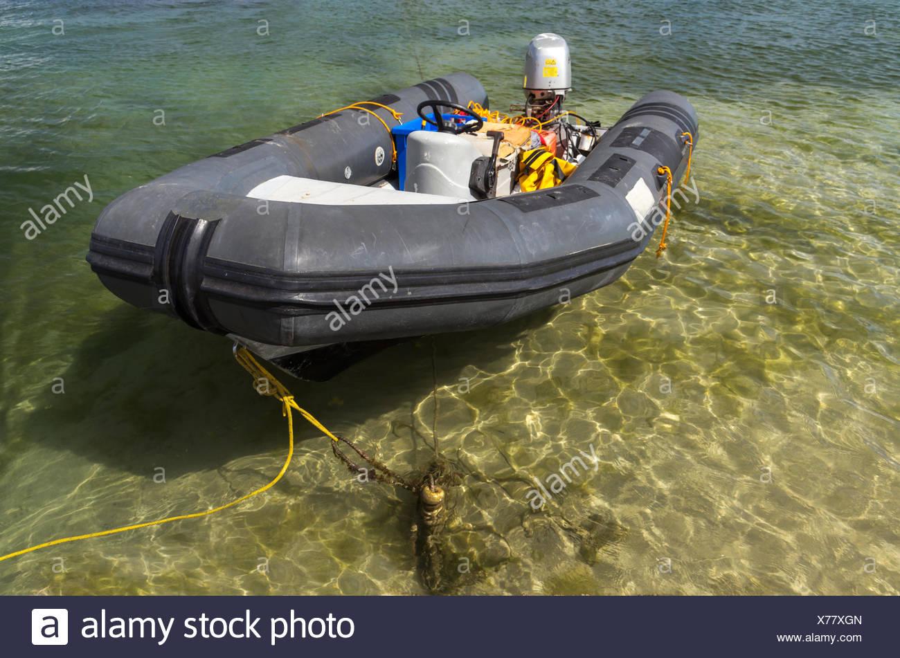 dinghy - Stock Image