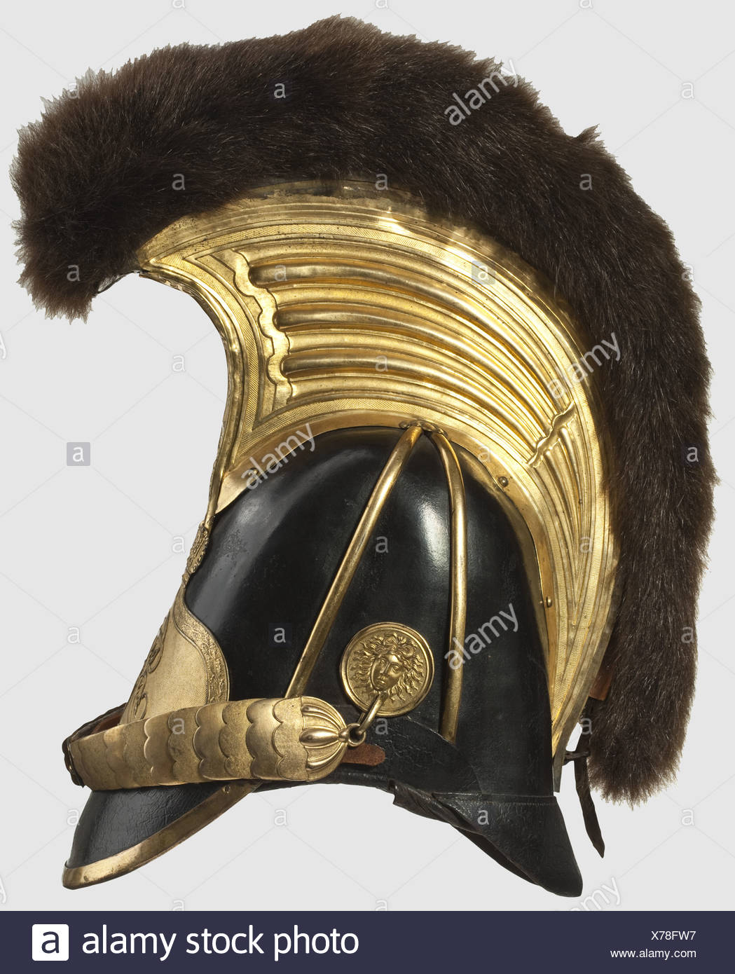 A Helmet For Officers Of The Cavalry Regiments 1836 1854