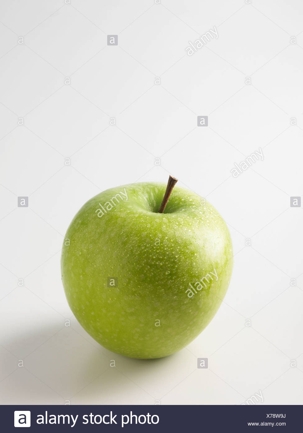 Close up of green apple - Stock Image