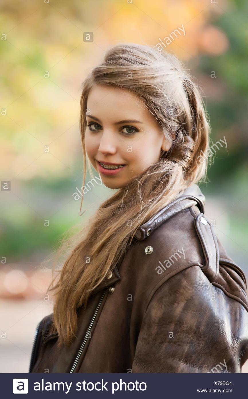 rough girly - Stock Image