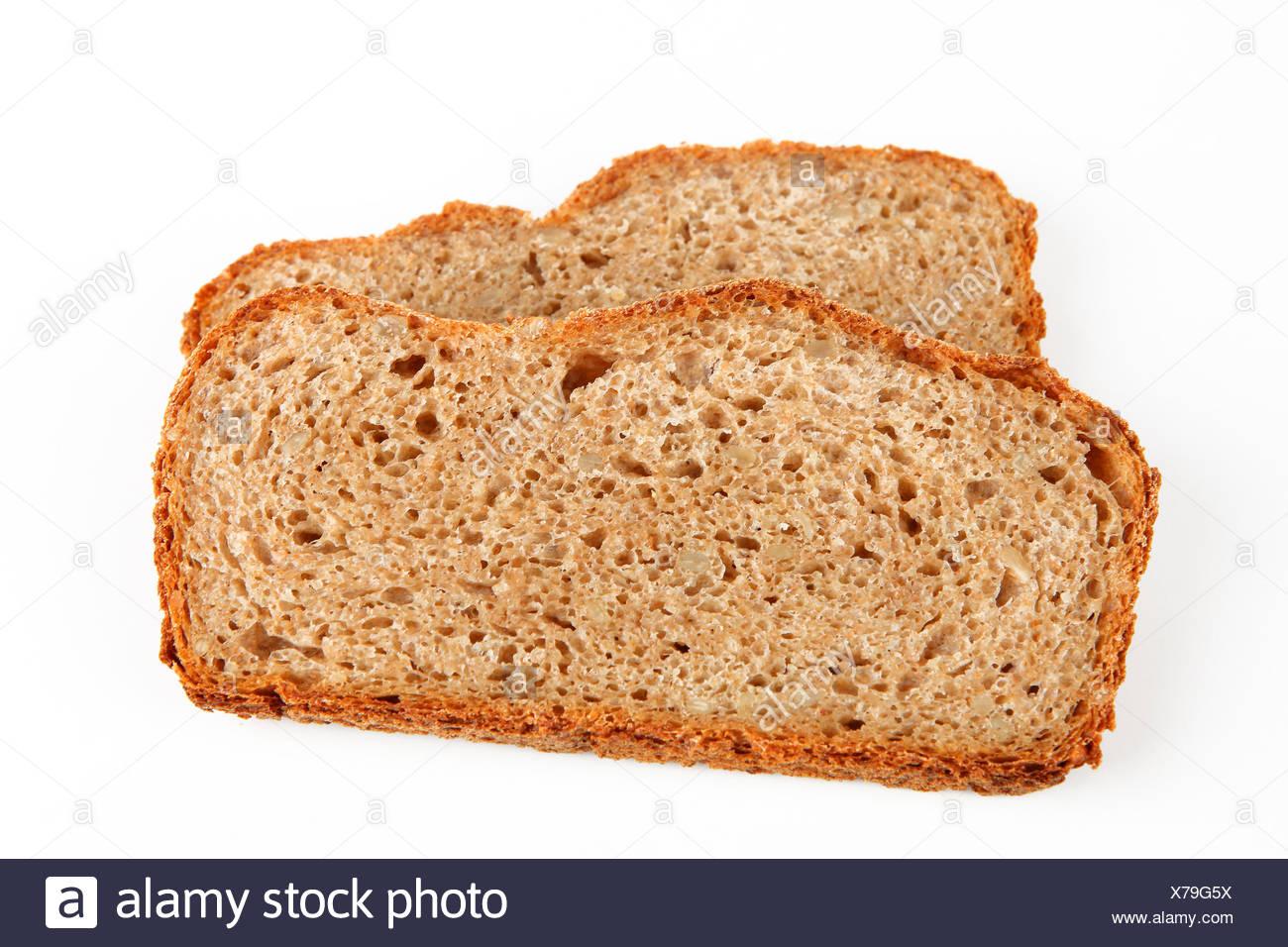 dark bread - Stock Image