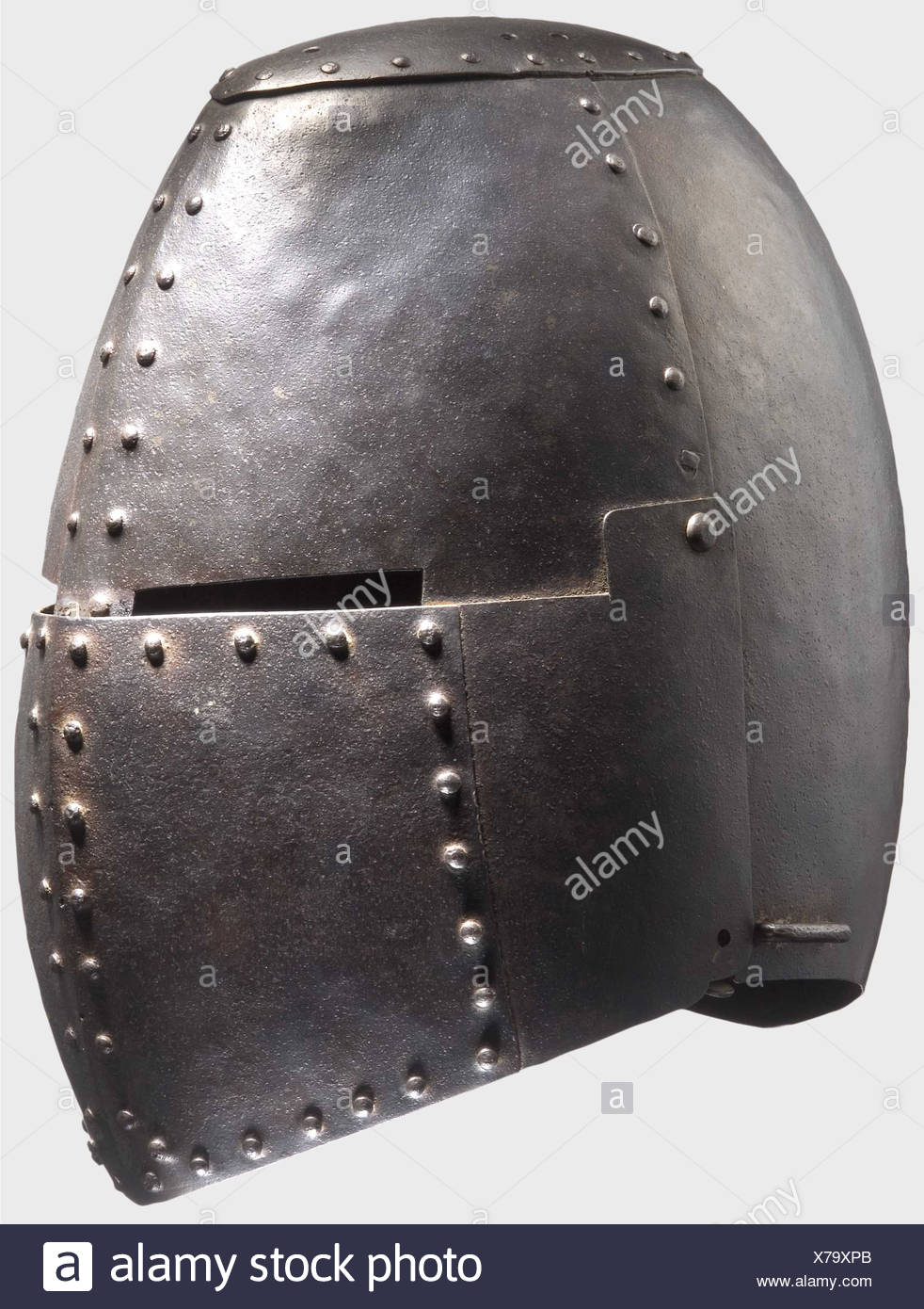 A great helm, Historismus Period in the style of the 1st
