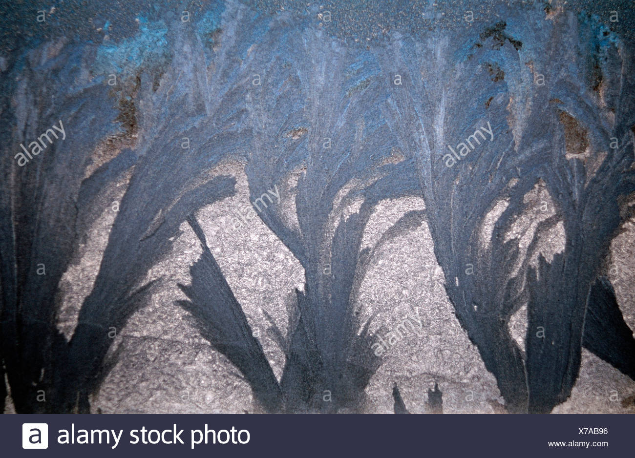 Frostwork - Stock Image