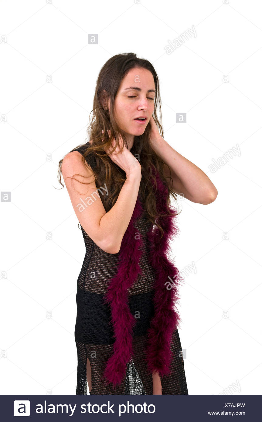 Distressed Emotional woman - Stock Image