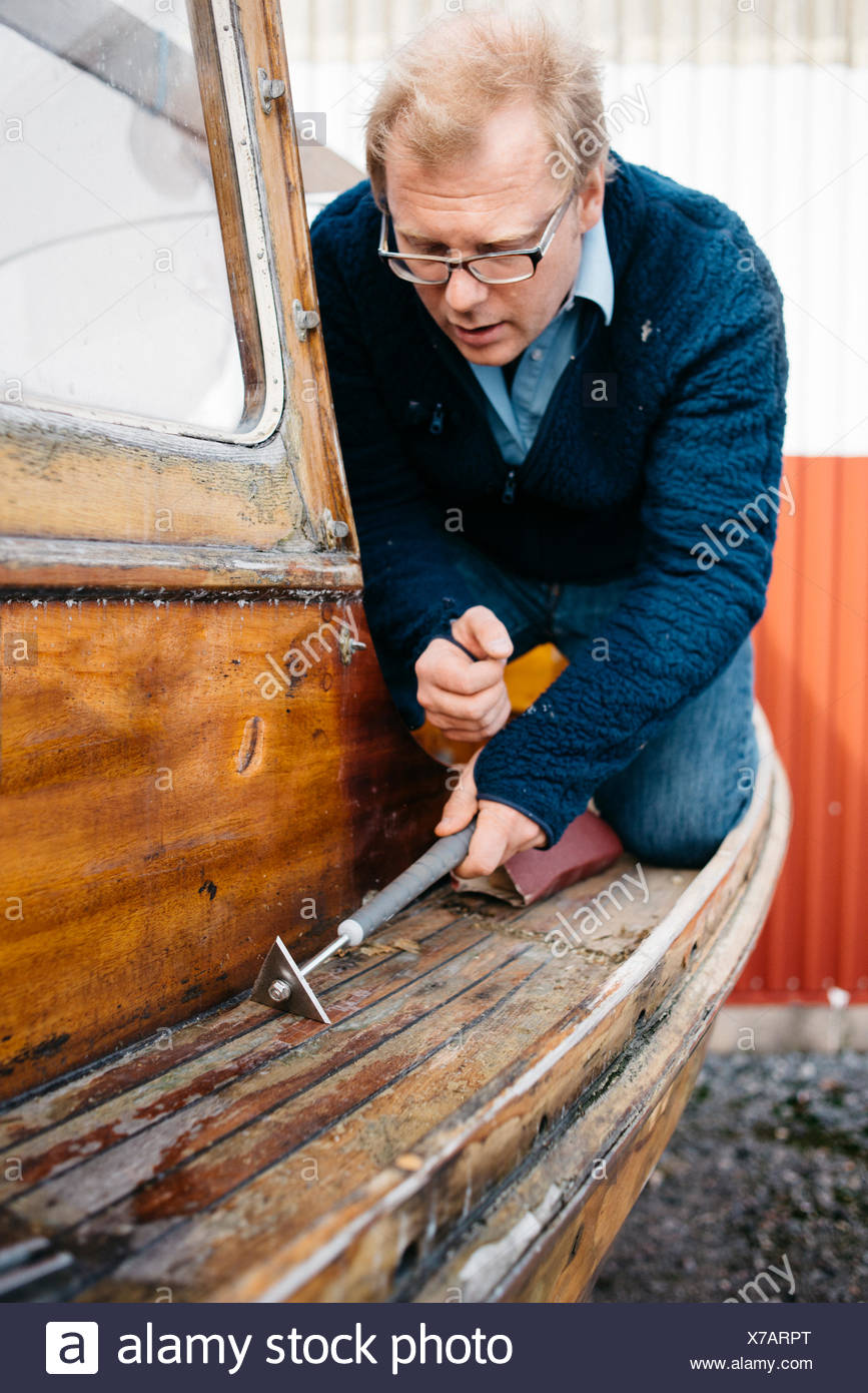 Boat Craft Paper One Man Stock Photos Boat Craft Paper One Man