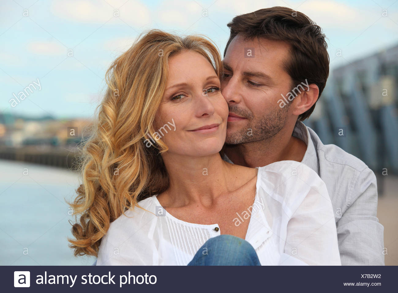 affection affectionate adore - Stock Image