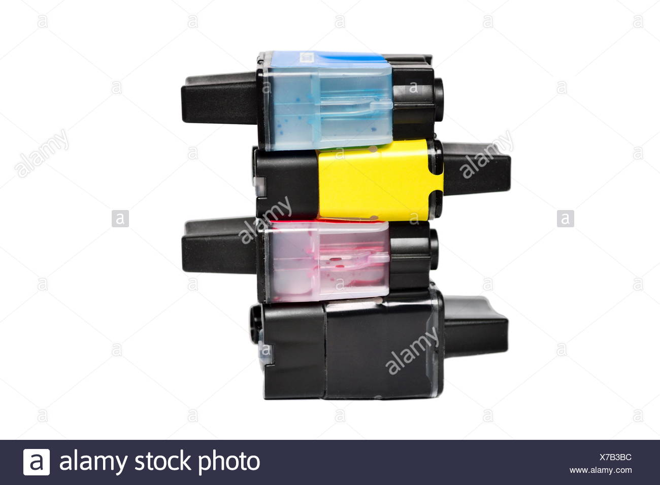 Ink cartridges - Stock Image