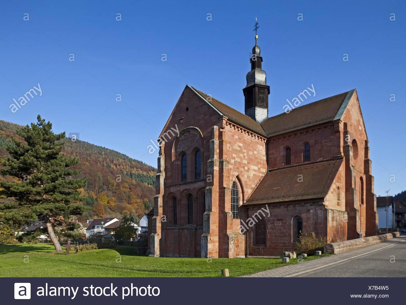 Monastic church Eußerthal - Stock Image