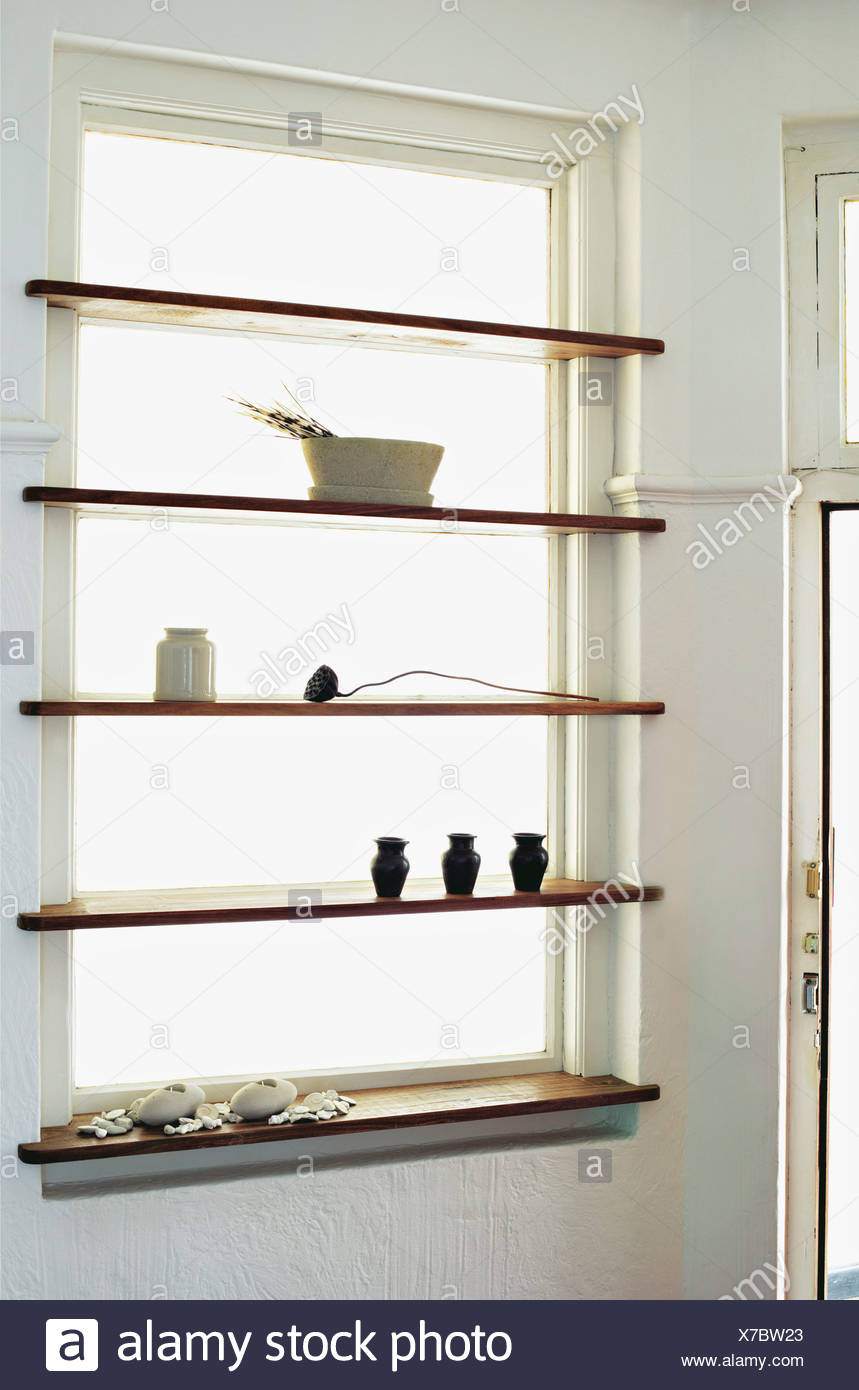 Ideas to suit your pocket, Install window shelves: shelves in front ...