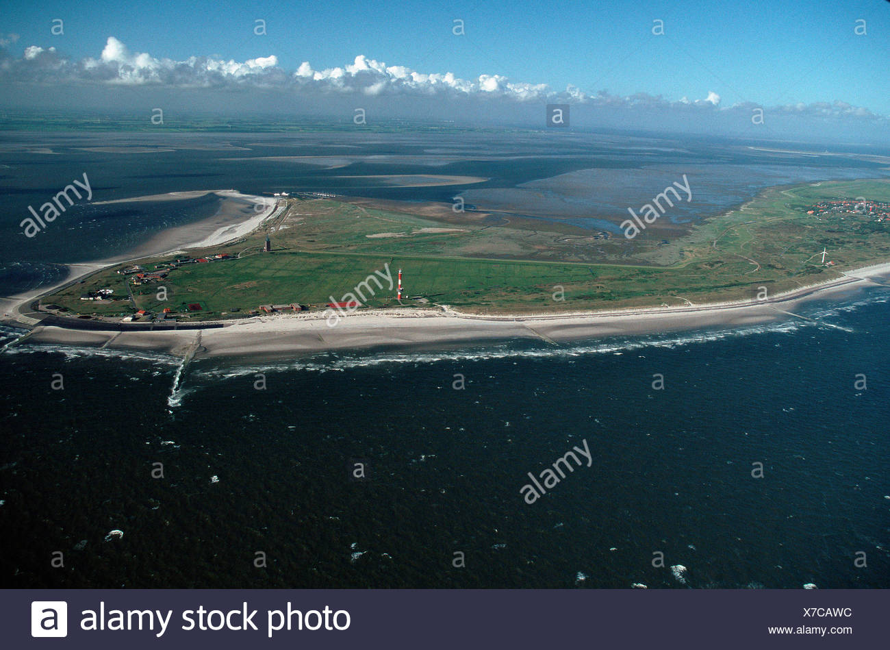 Island Wangerooge / Insel Wangerooge Stock Photo