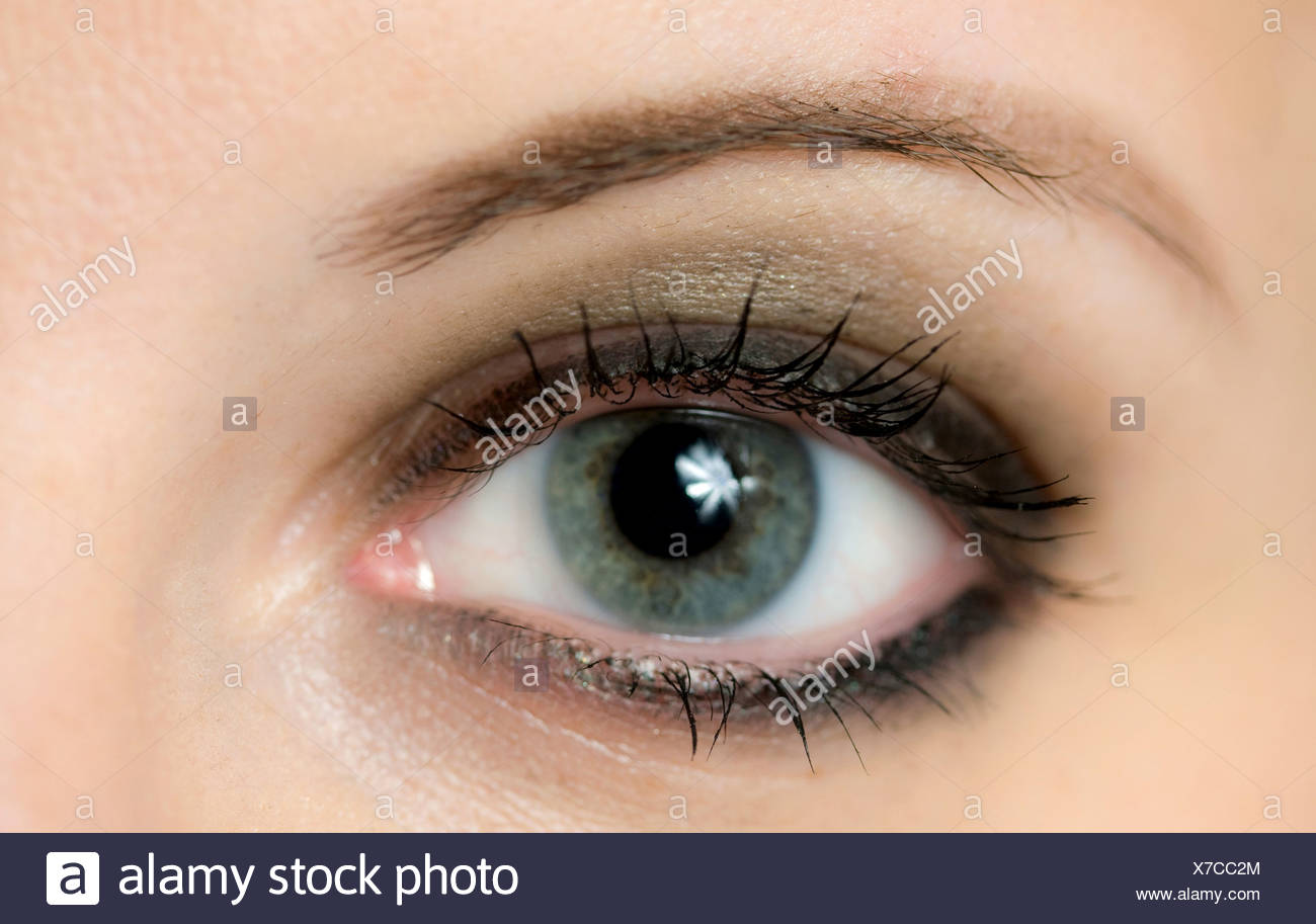 One eye - Stock Image
