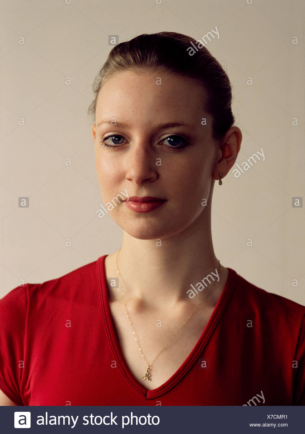 Young woman in her early twenties UK - Stock Image