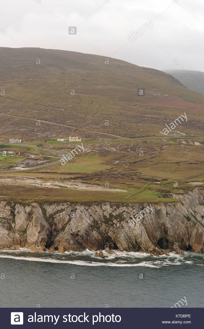Republic of Ireland, County Mayo, Achill Island, Dooega Bay Stock Photo
