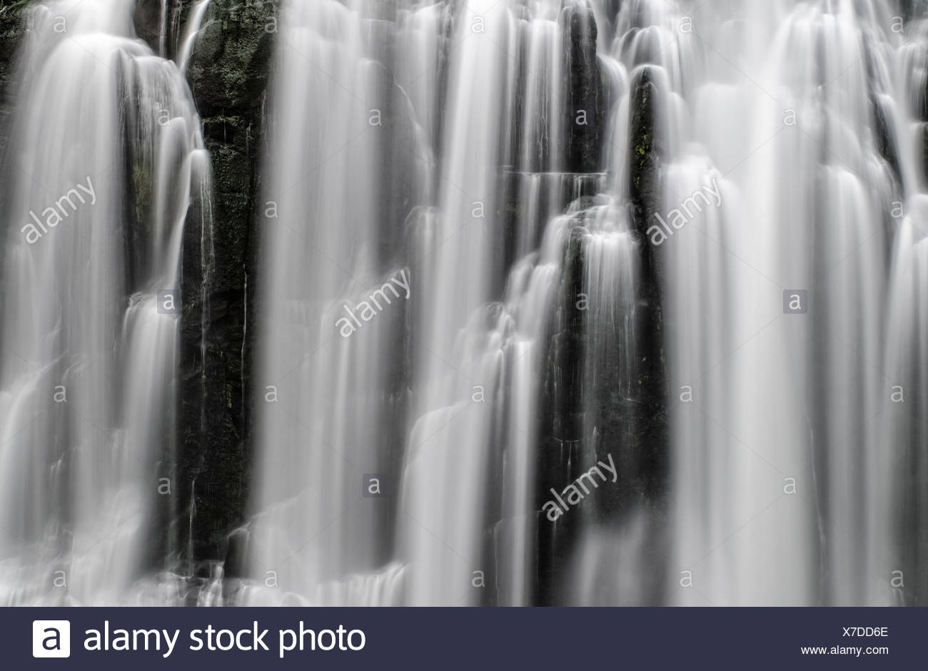 Marokopa Falls, Waikato, North Island, New Zealand - Stock Image