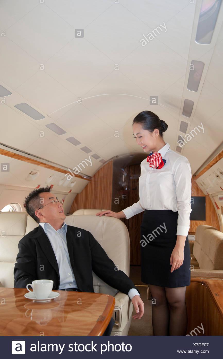 wie man eine Stewardess ist
