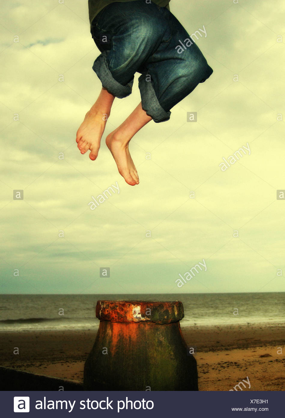 jump 4 - Stock Image