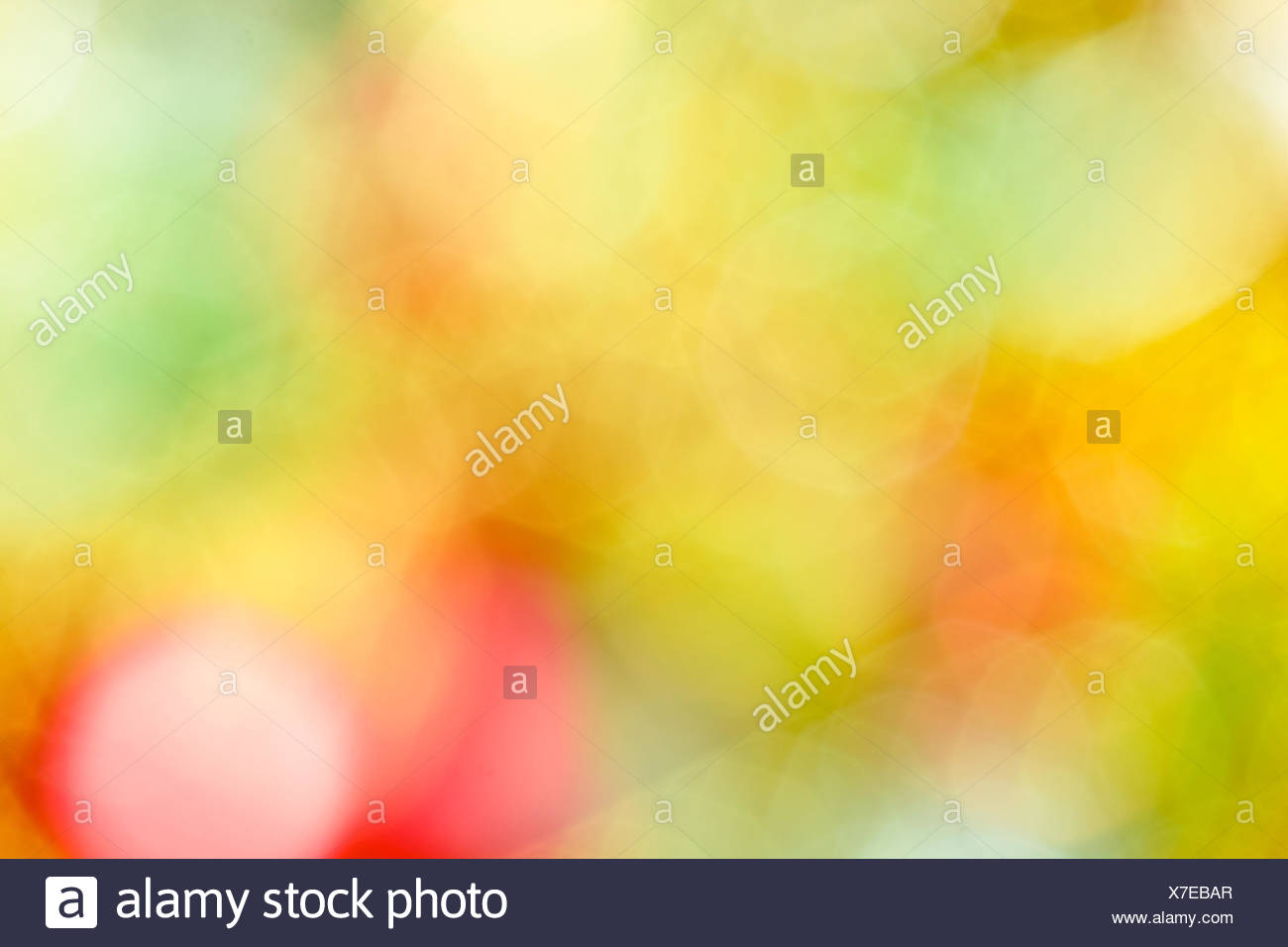Christmas abstraction unfocused - Stock Image