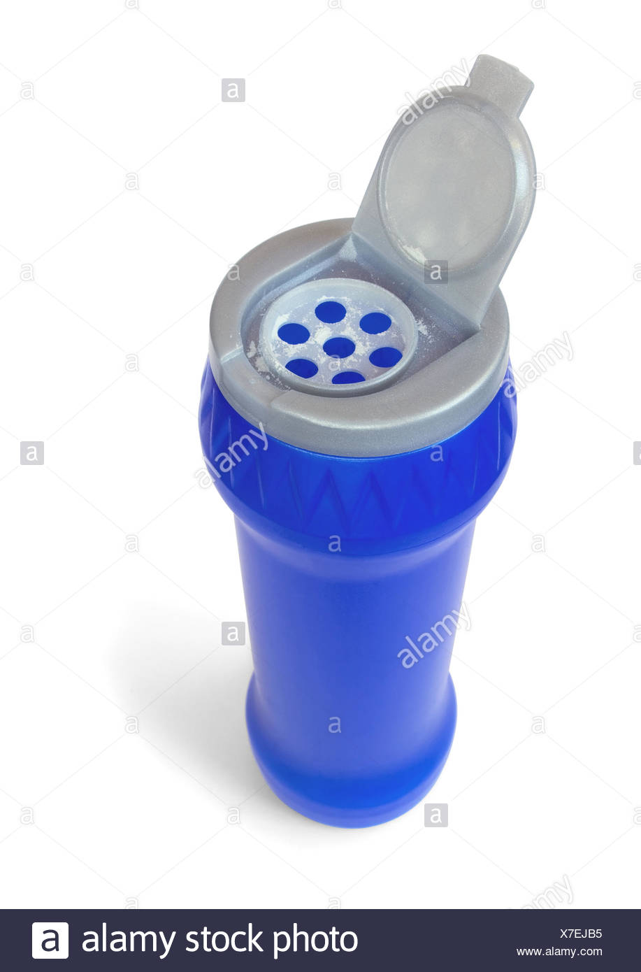 bottle of detergent powder - Stock Image
