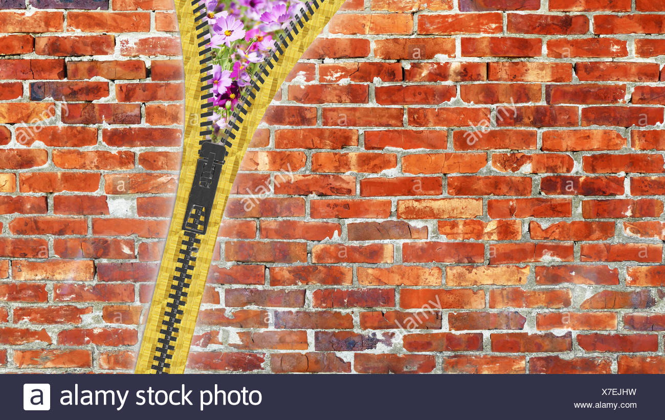 3d rendering close up zipper texture on isolated background with copy space Stock Photo