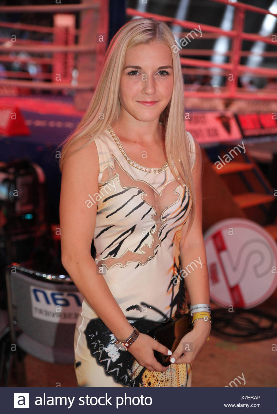 Fabiana Bytyqi boxer Stock Photo