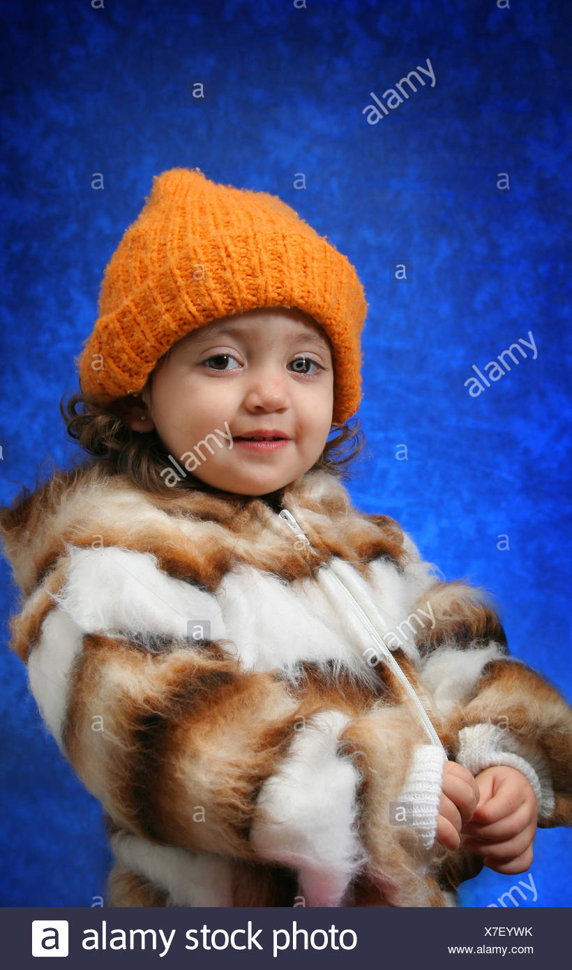 e213396f winter cold hat scarf freeze child children kids toddler blue laugh laughs