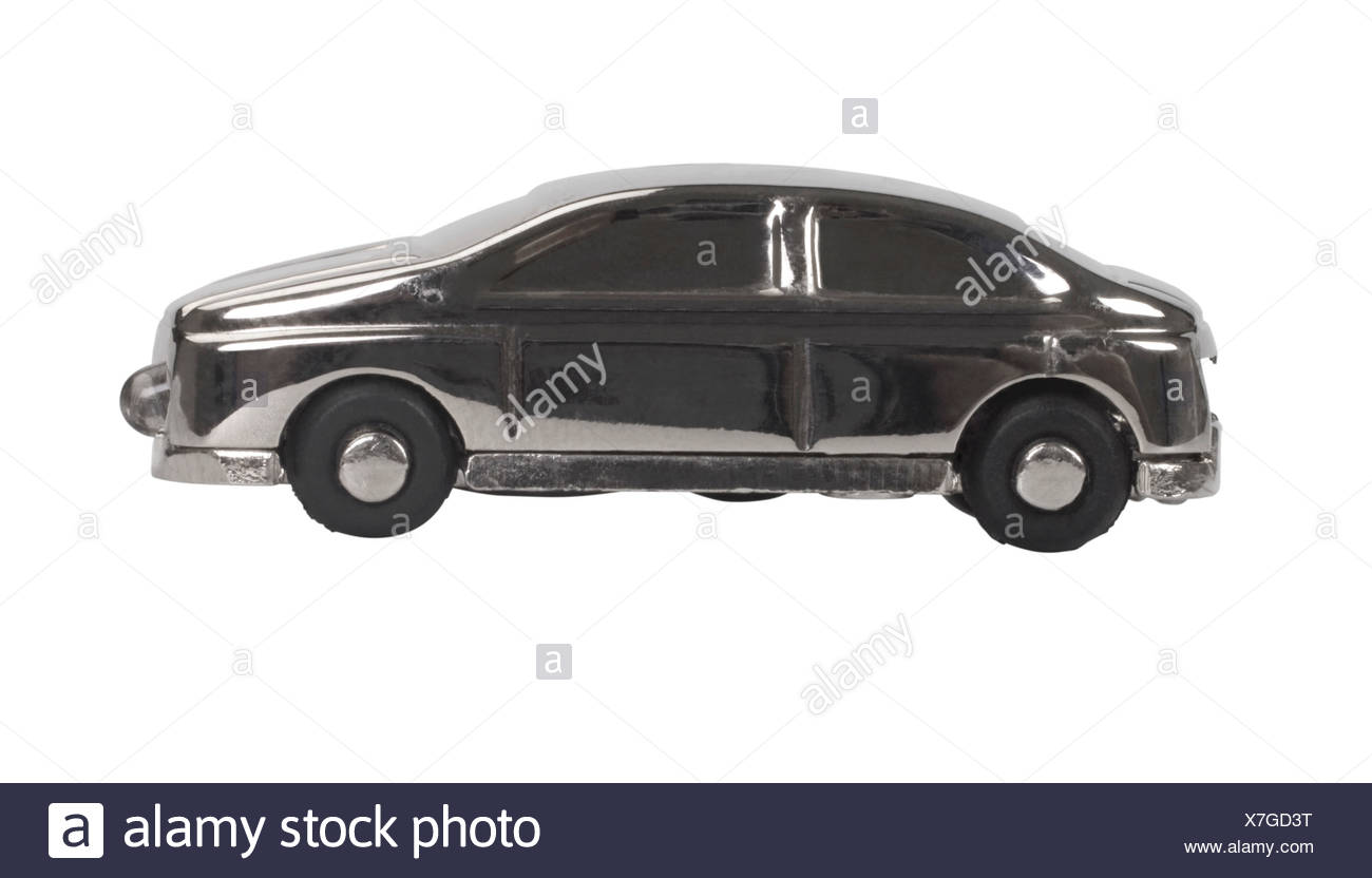 Close-up of a toy car - Stock Image