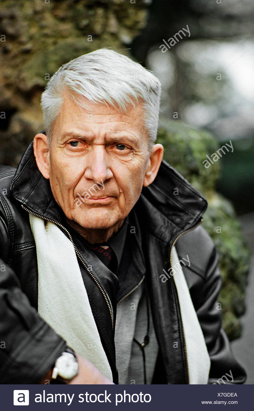 Enquist, Per Olov, * 23.9.1934, Swedish author / writer and journalist, portrait, 5.3.2001, Additional-Rights-Clearances-NA - Stock Image