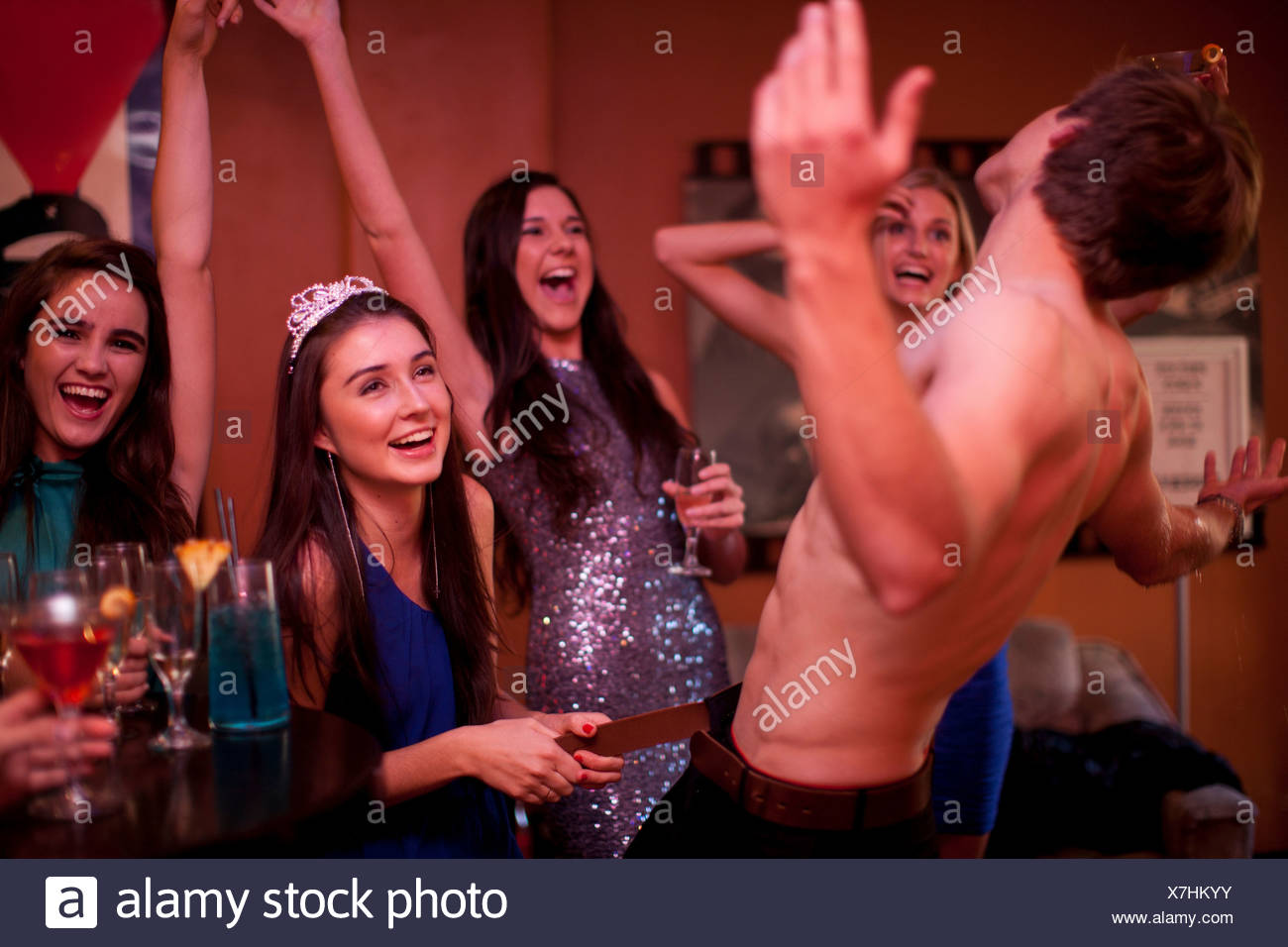 Male party picture stripper