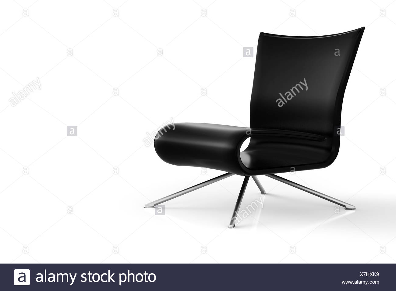 GroBartig Sit And Relax   Schwarz   Stock Image