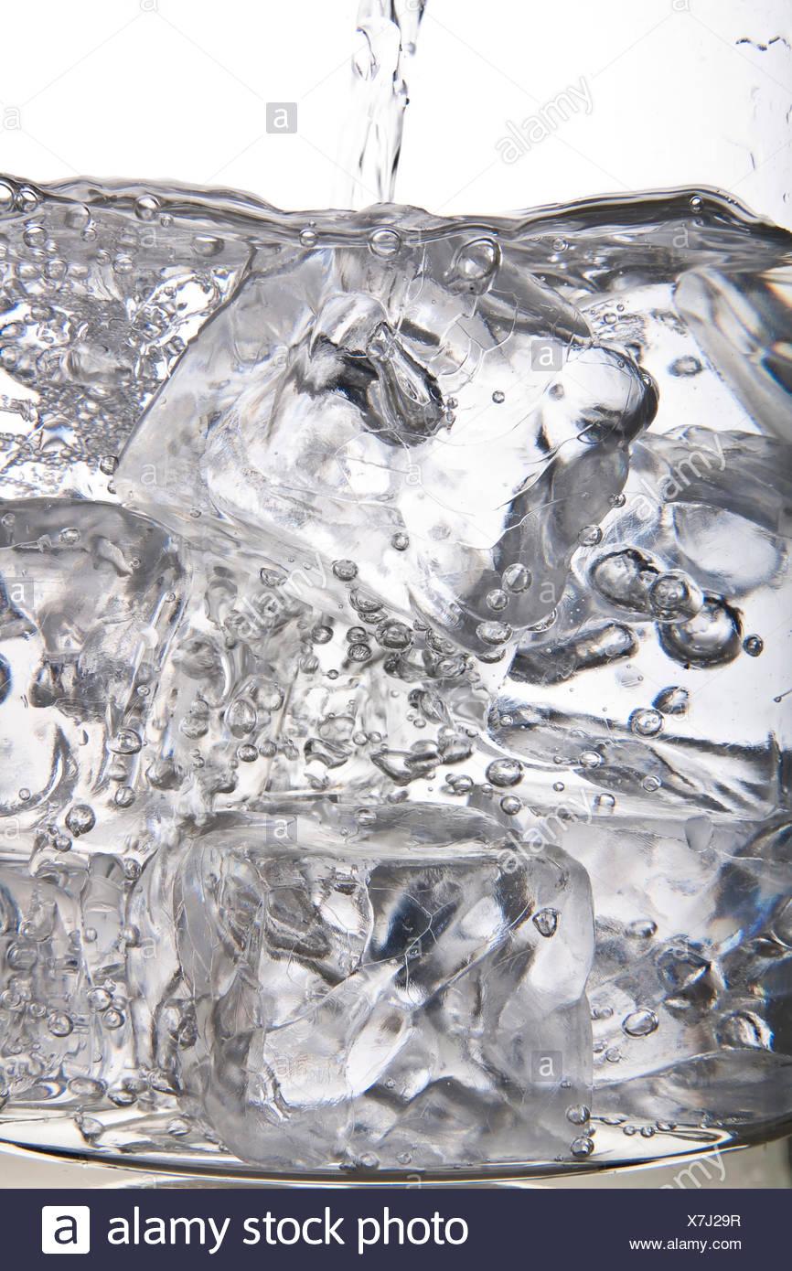 ice cubes-155 - Stock Image