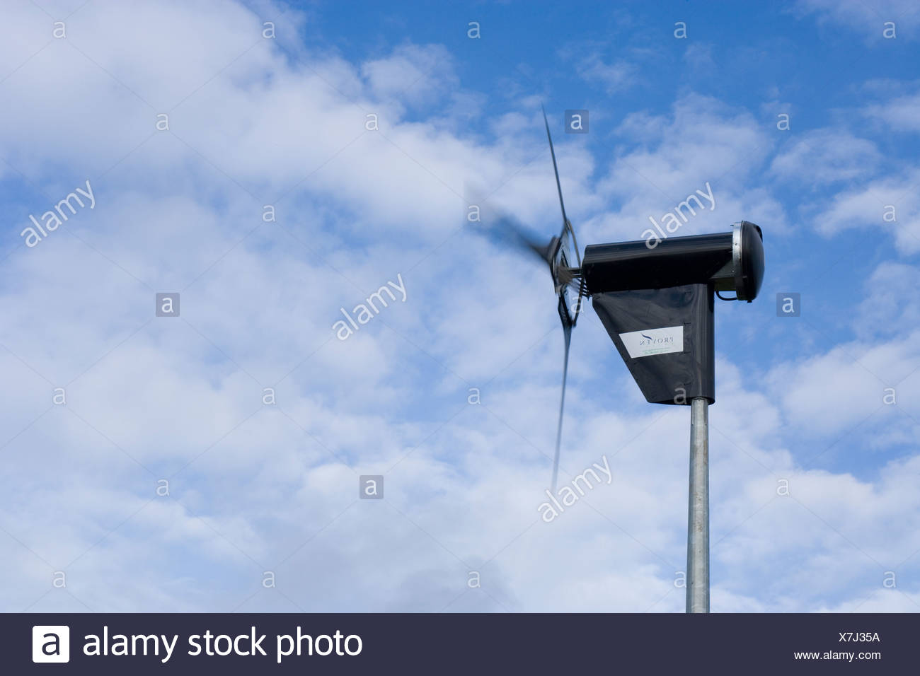 small 6KW domestic wind turbine Stock Photo: 280066118 - Alamy
