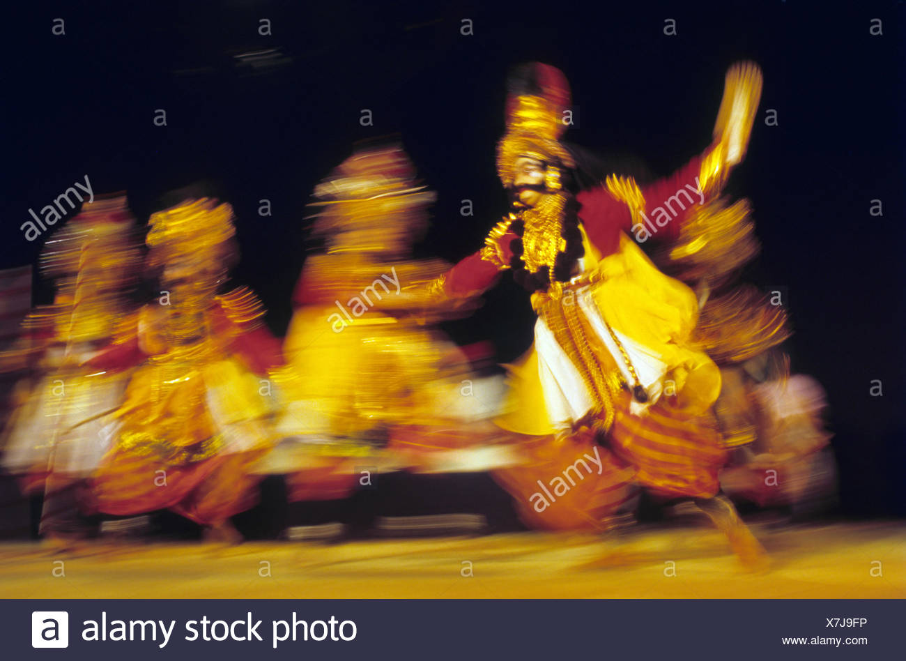 Artistes performing - Stock Image