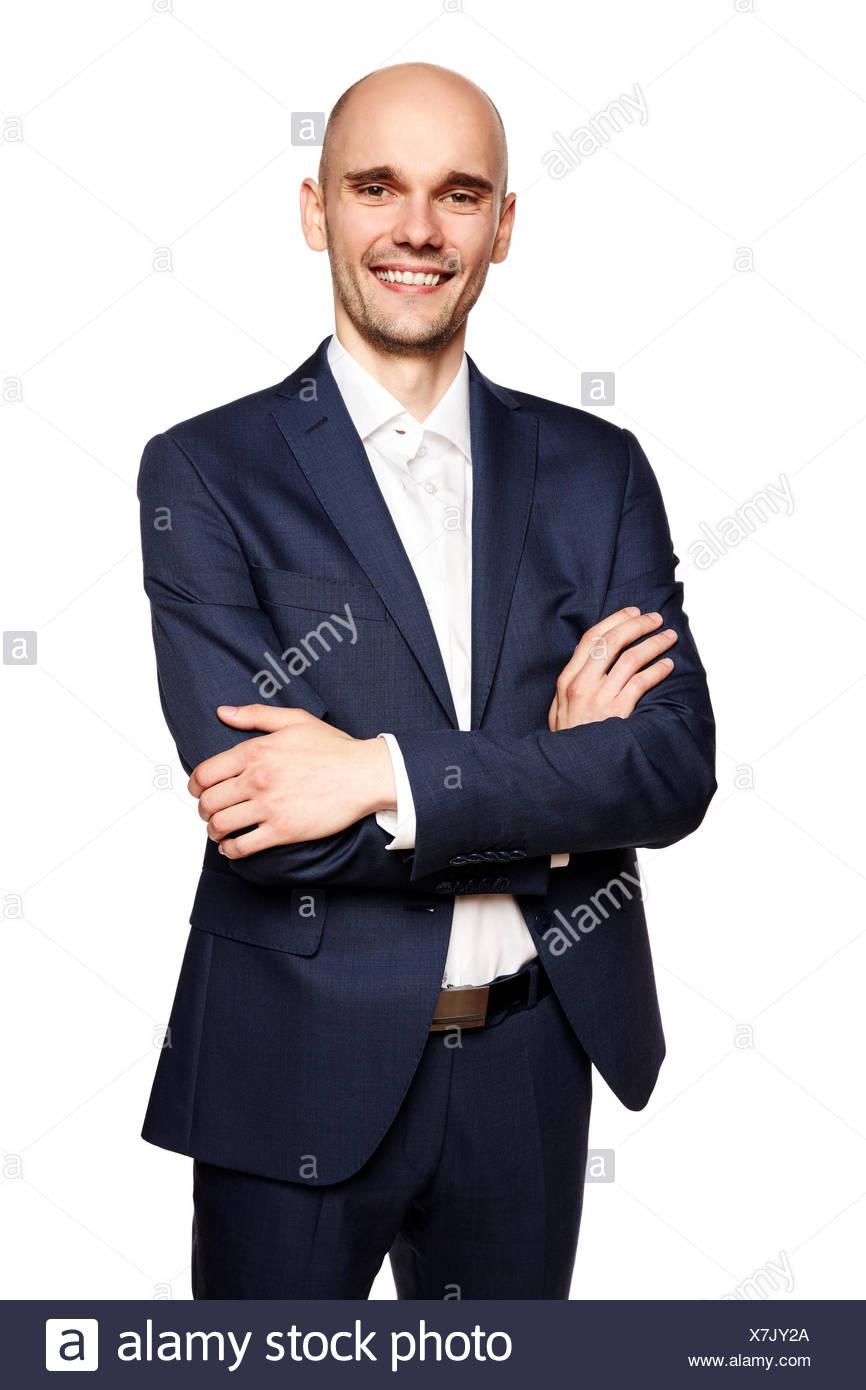Bald Man - Stock Image