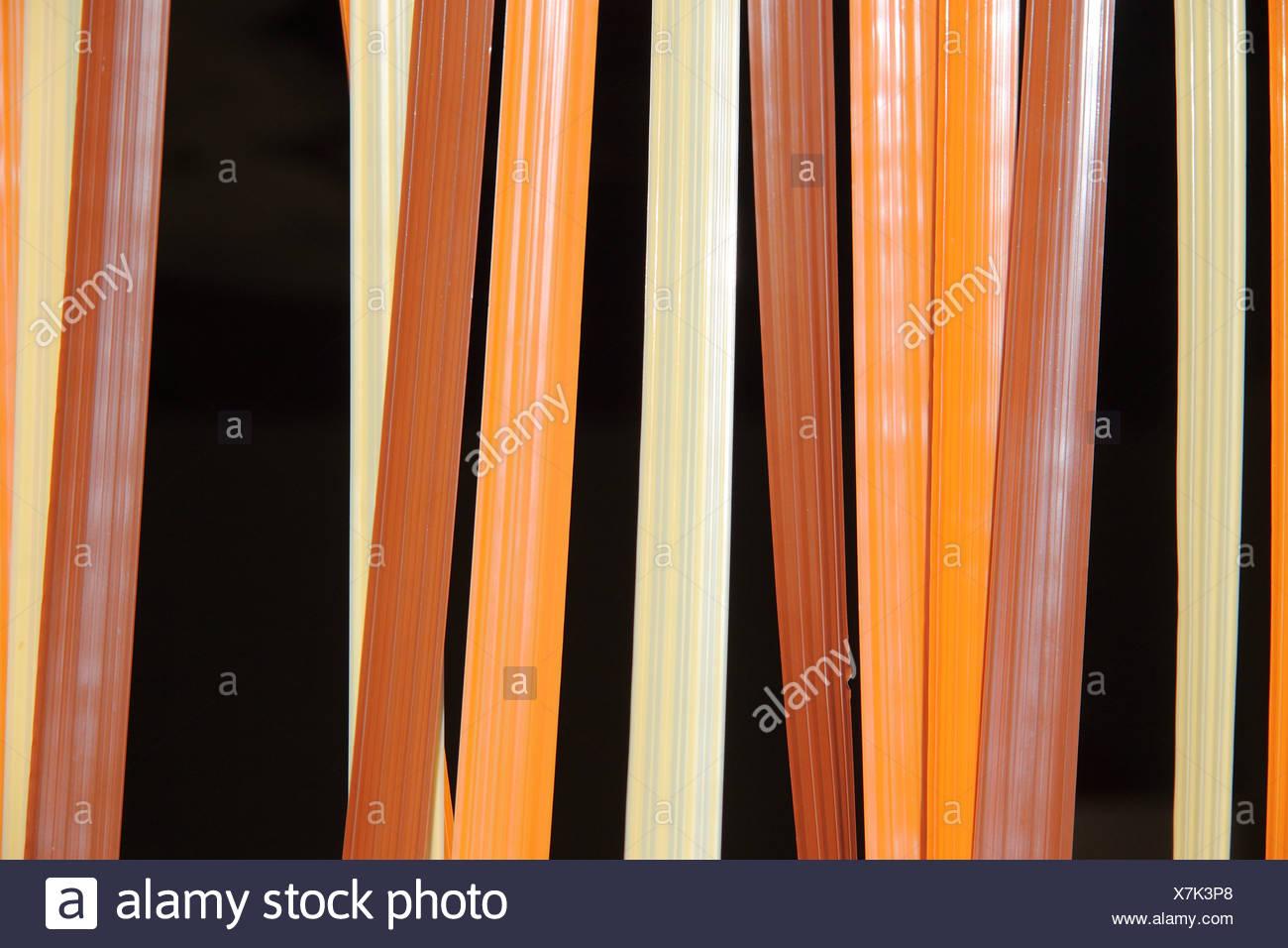 door curtain - Stock Image