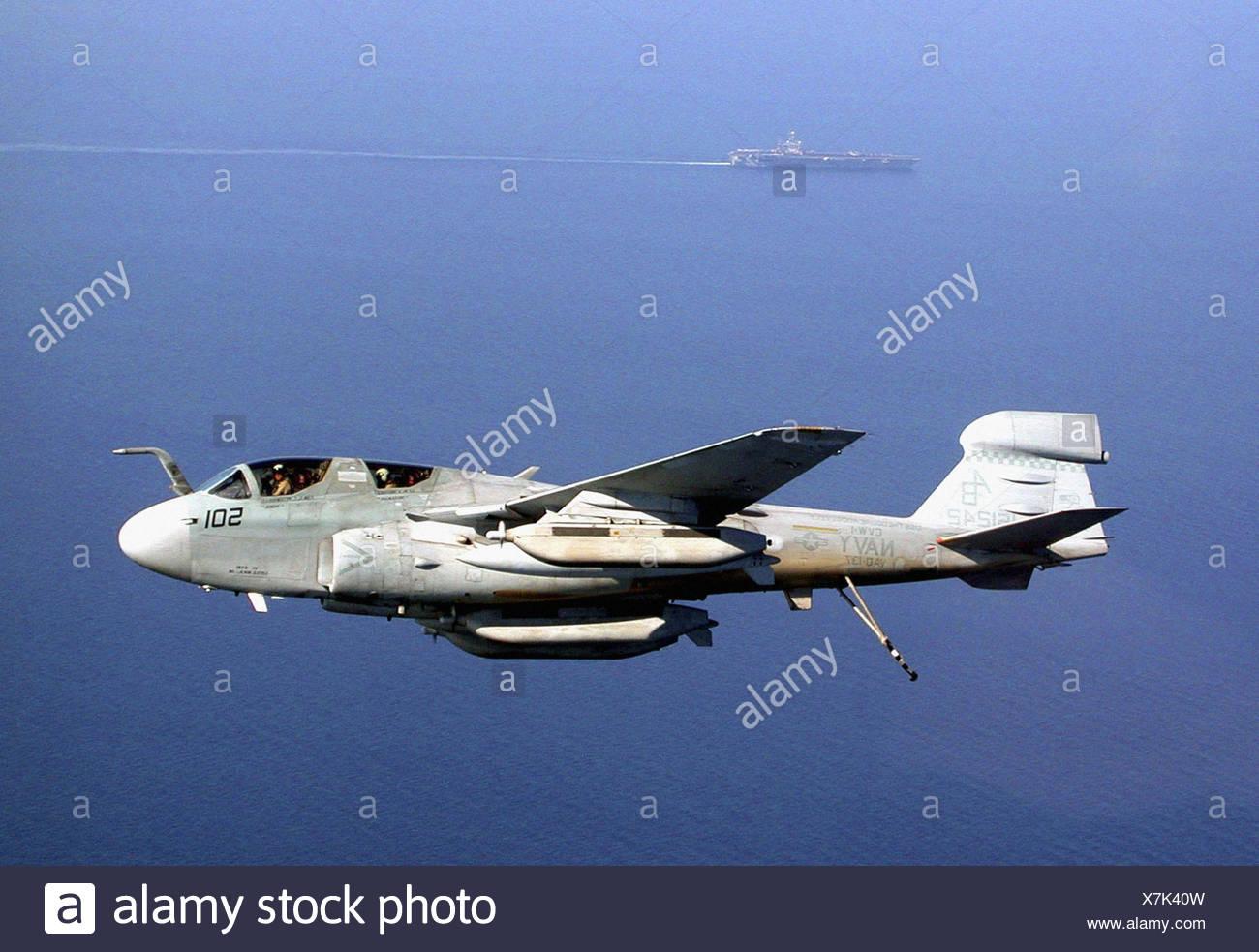USN EA-6B Prowler aircraft 12X18 Photograph US Navy