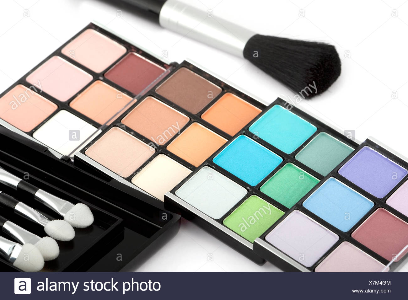 cosmetics for making up the eyes - Stock Image