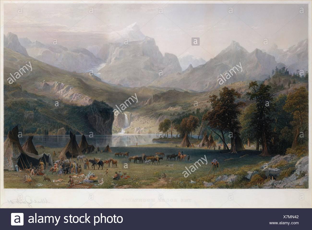the rocky mountains landers peak