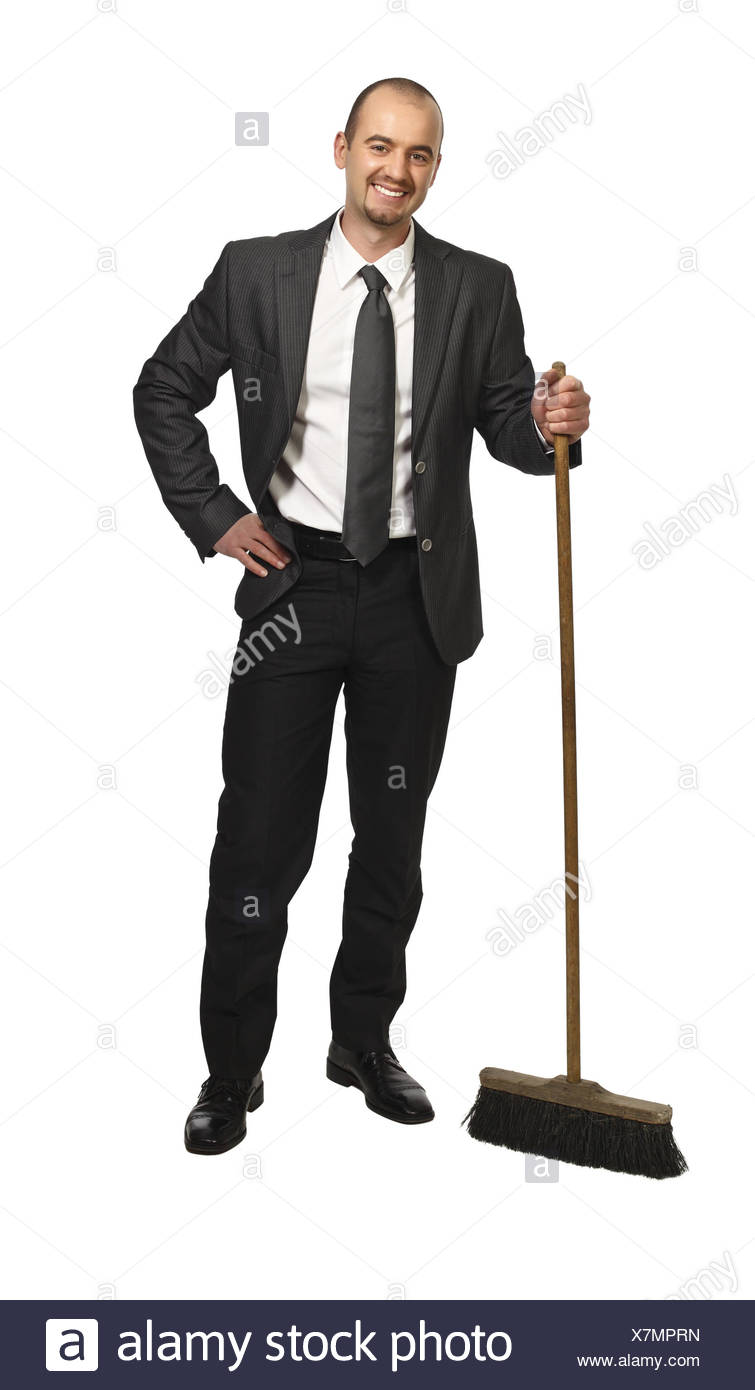 business man portrait - Stock Image