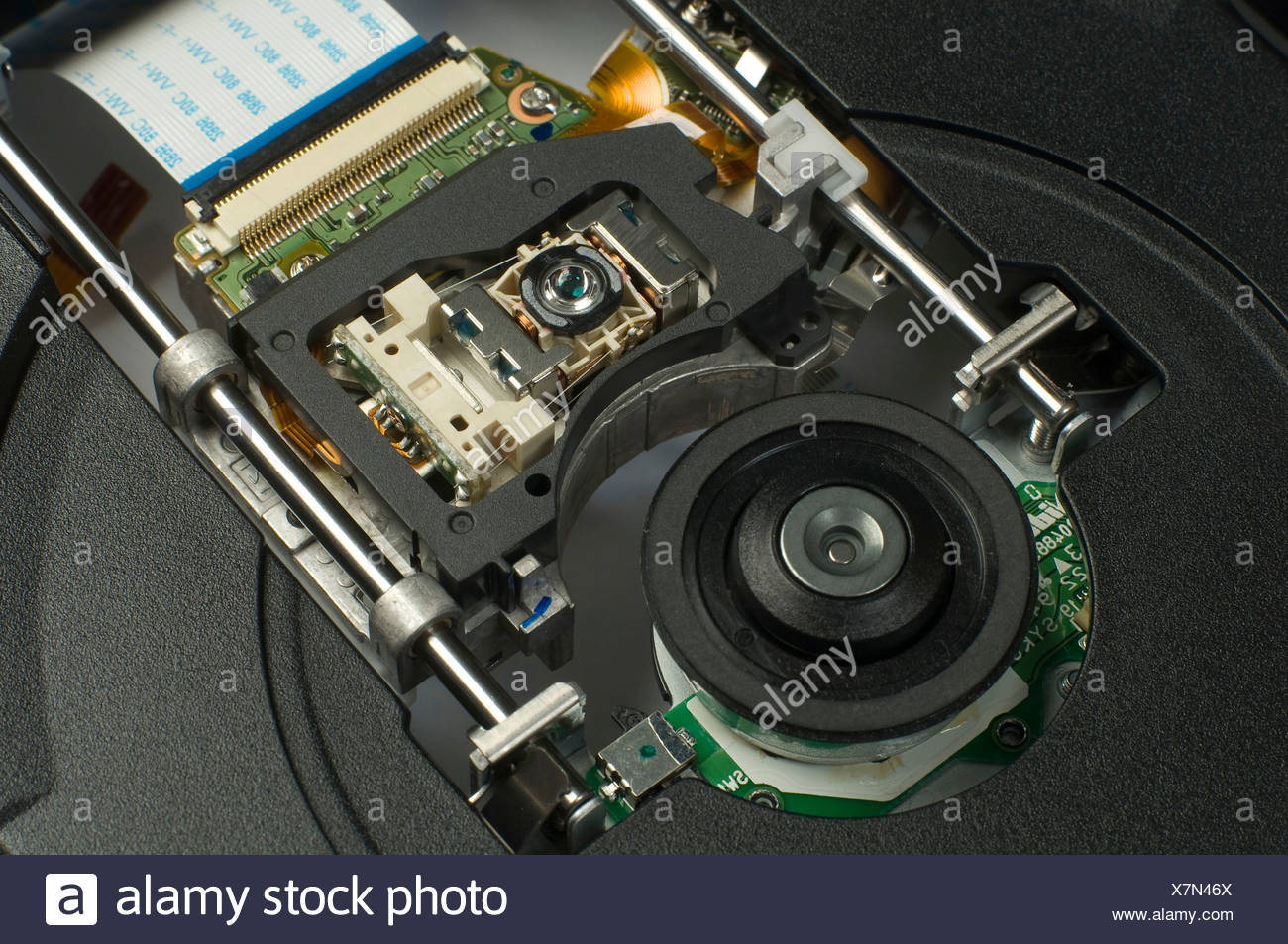 Sony DVD Blu-ray Player in detail - Stock Image