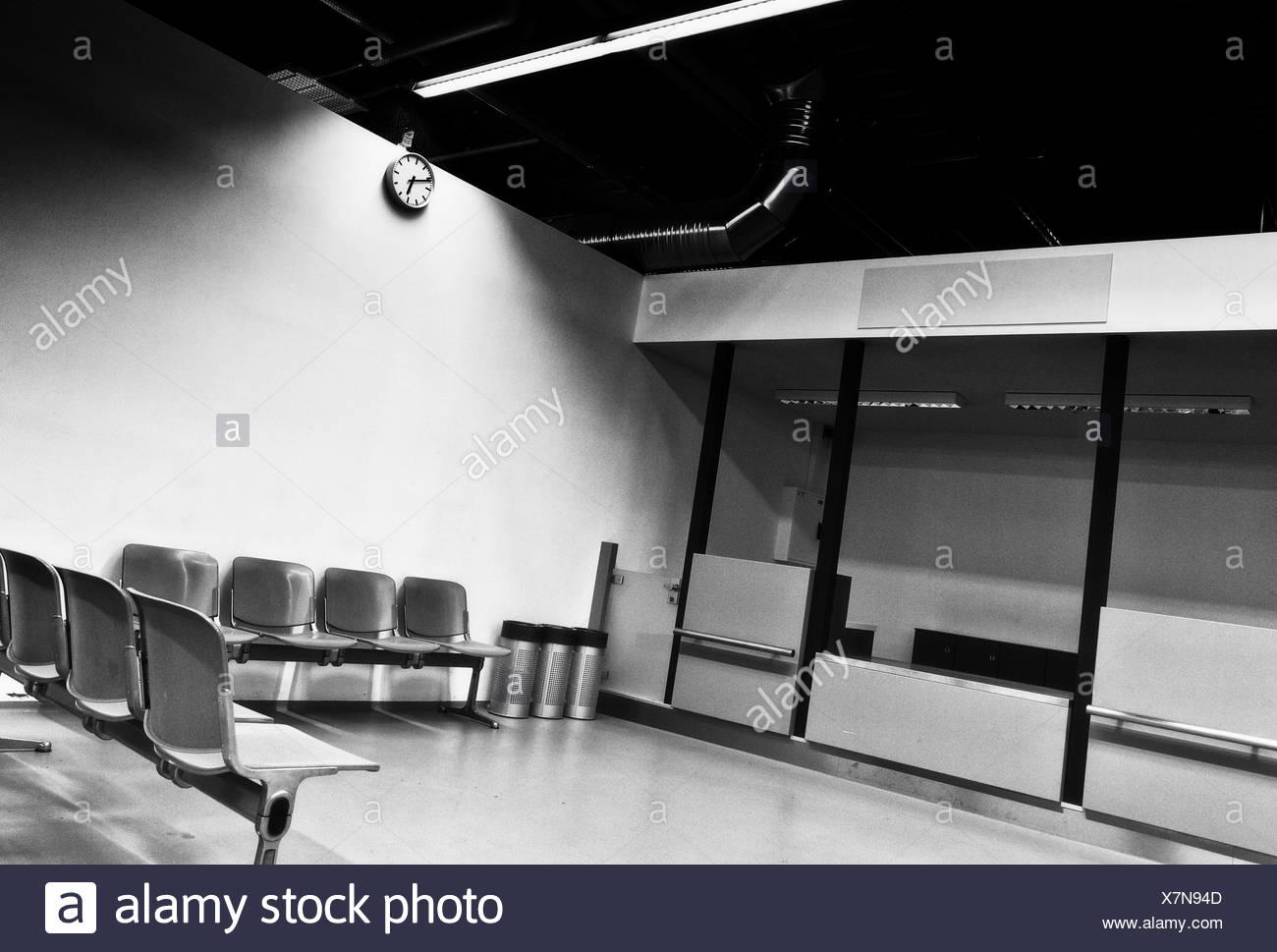 darkness room - Stock Image