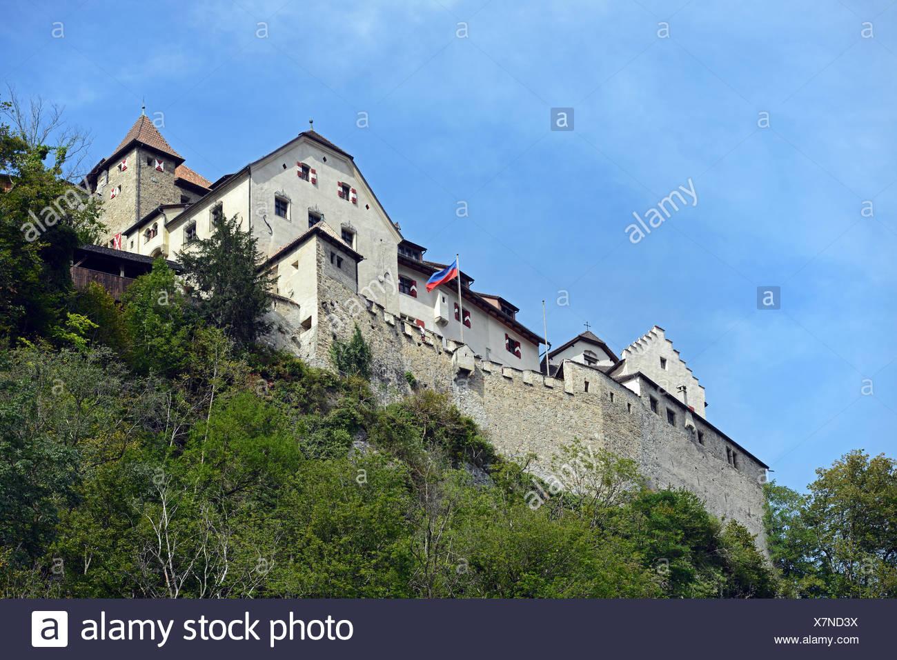 Schloss Liechtenstein / Liechtenstein Castle Stock Photo