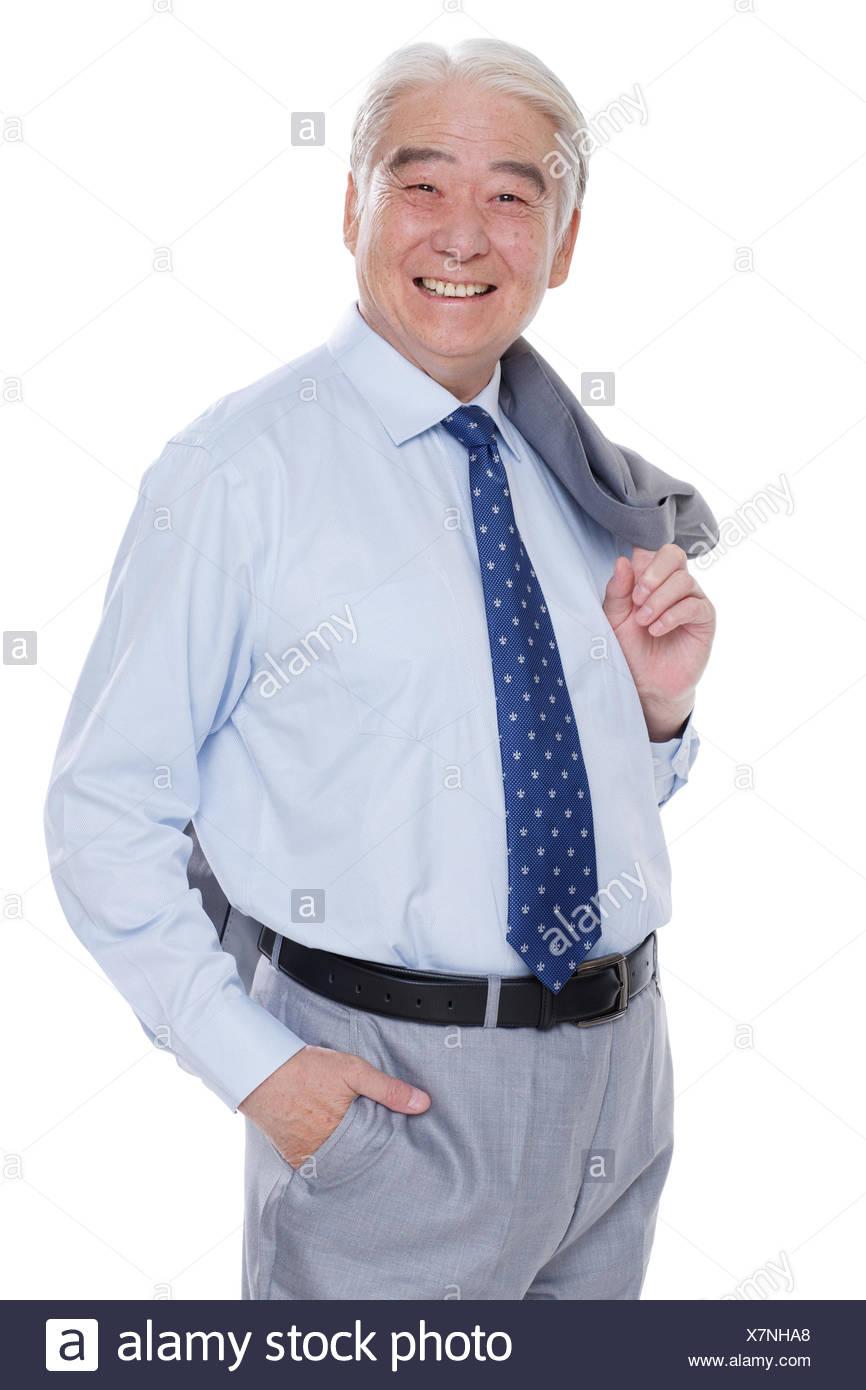 A successful older men - Stock Image