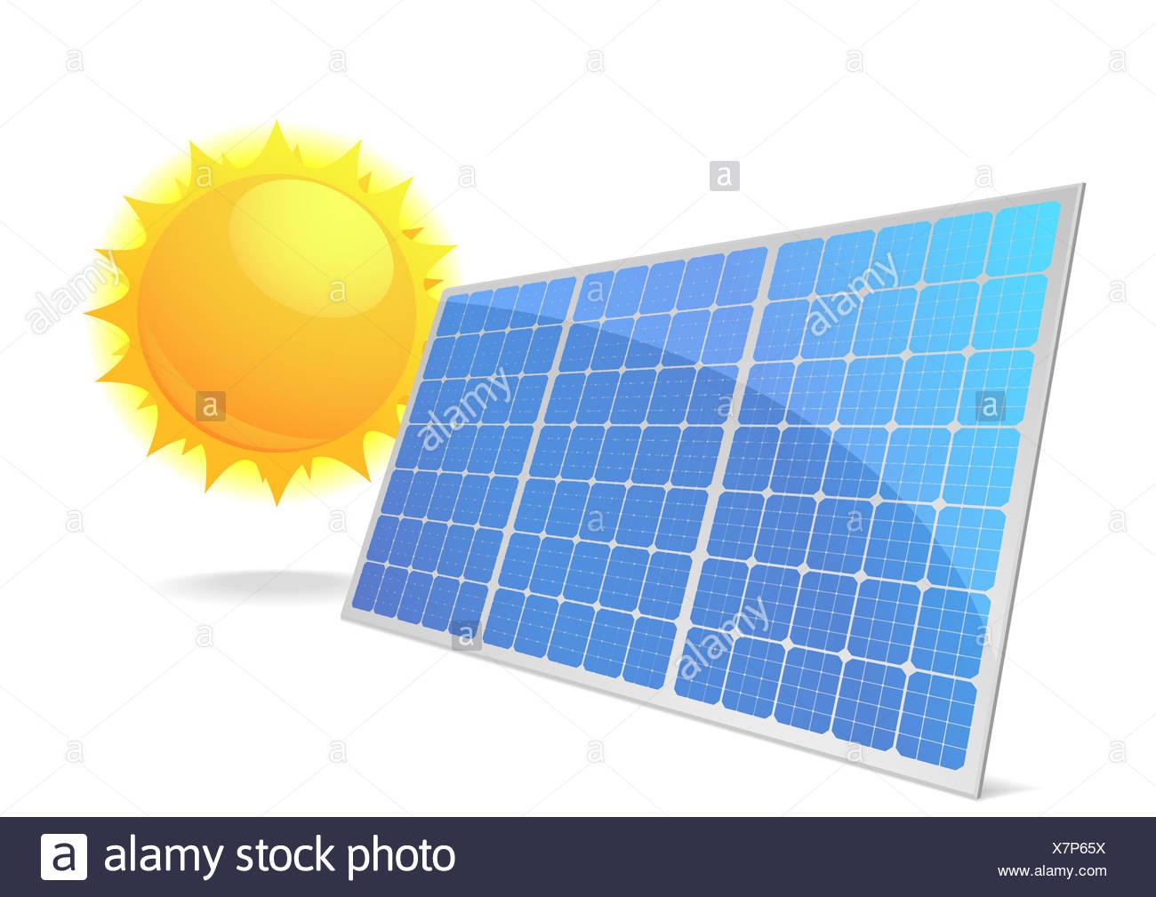 Solarzellen_06 - Stock Image