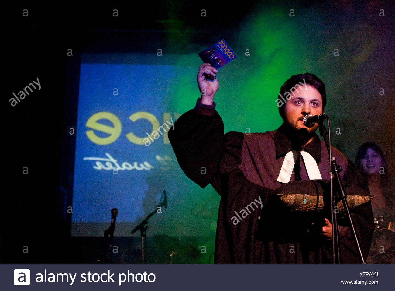Release of the cd 'Still Water' of the Swiss all-female band Caprice, with divine assistance, live in the Treibhaus Lucerne - Stock Image