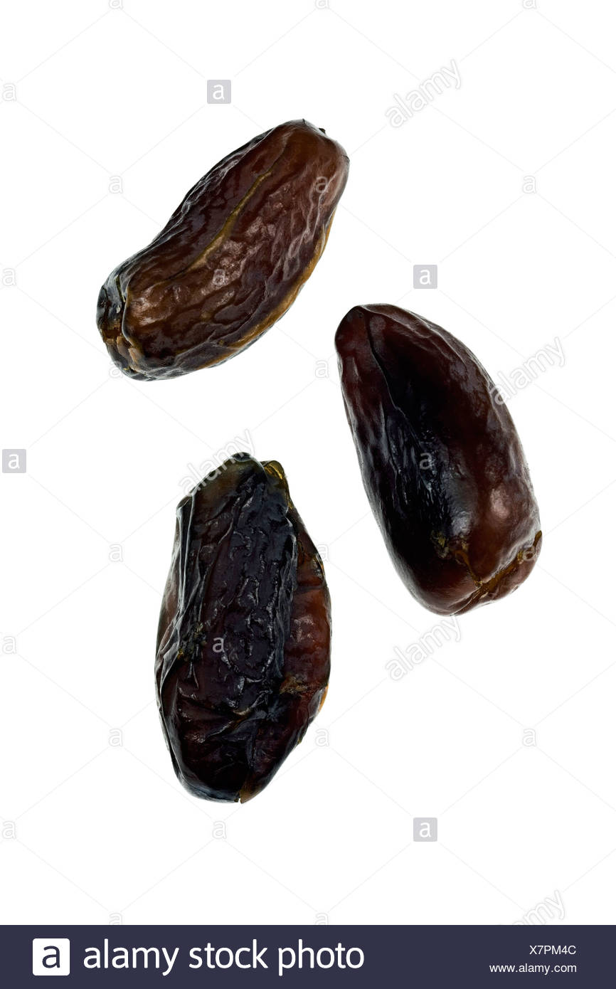Pitted dates - Stock Image