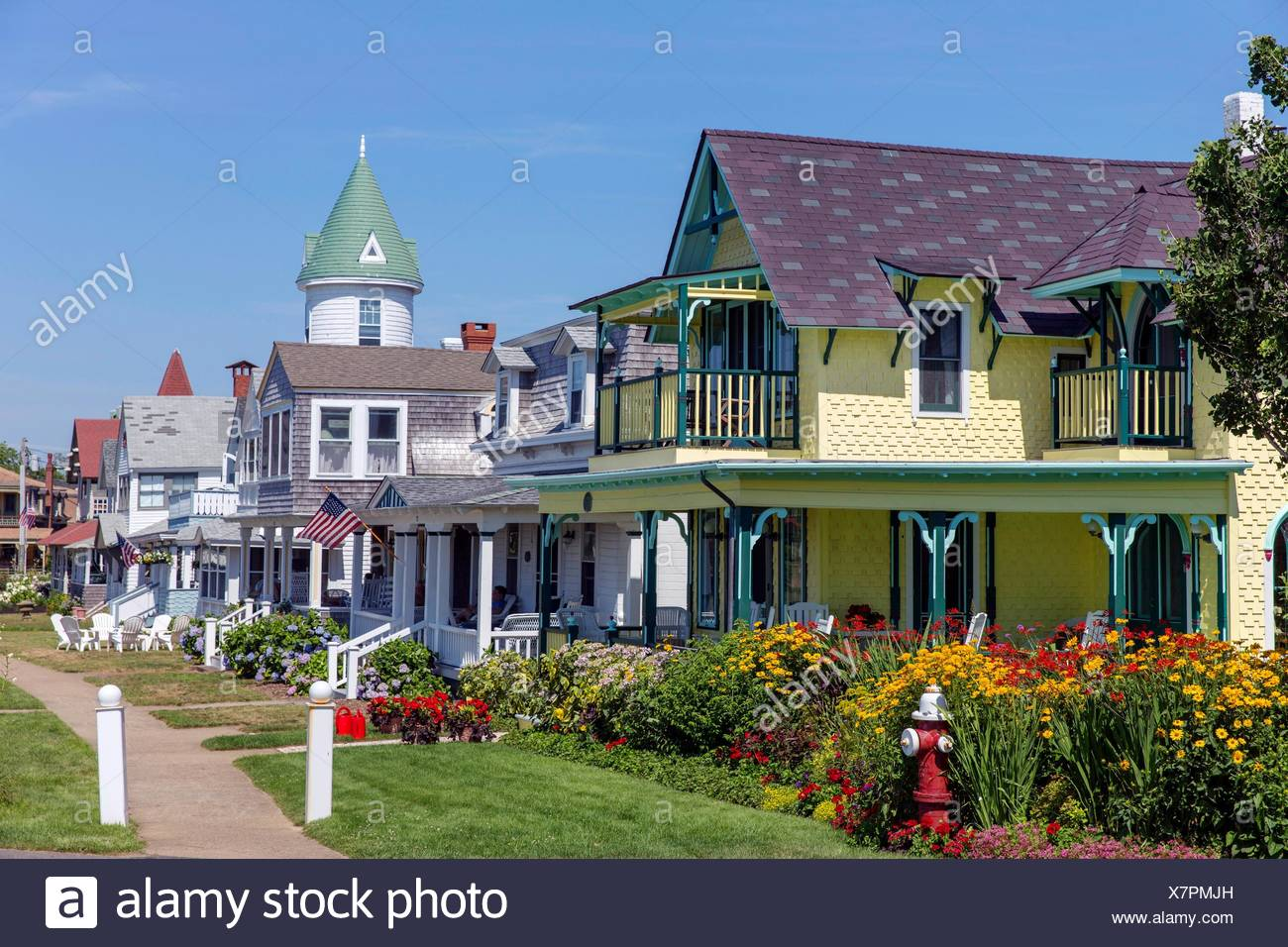 Oak Bluffs Painted Houses