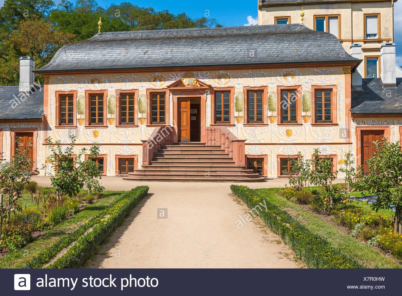 Darmstadt, Hessen, Germany : Pretlack'sches Gartenhaus im Prinz