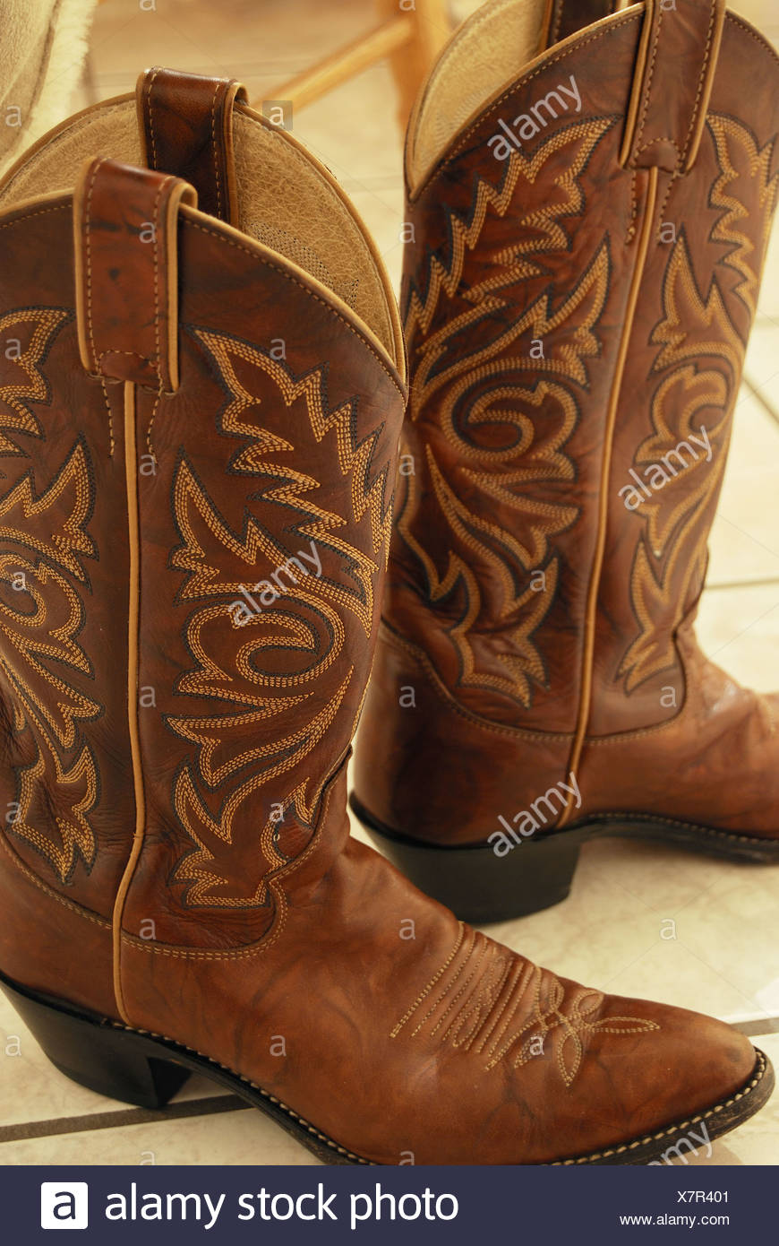 Cowboy boots. Nevada, USA Stock Photo 280176513 , Alamy