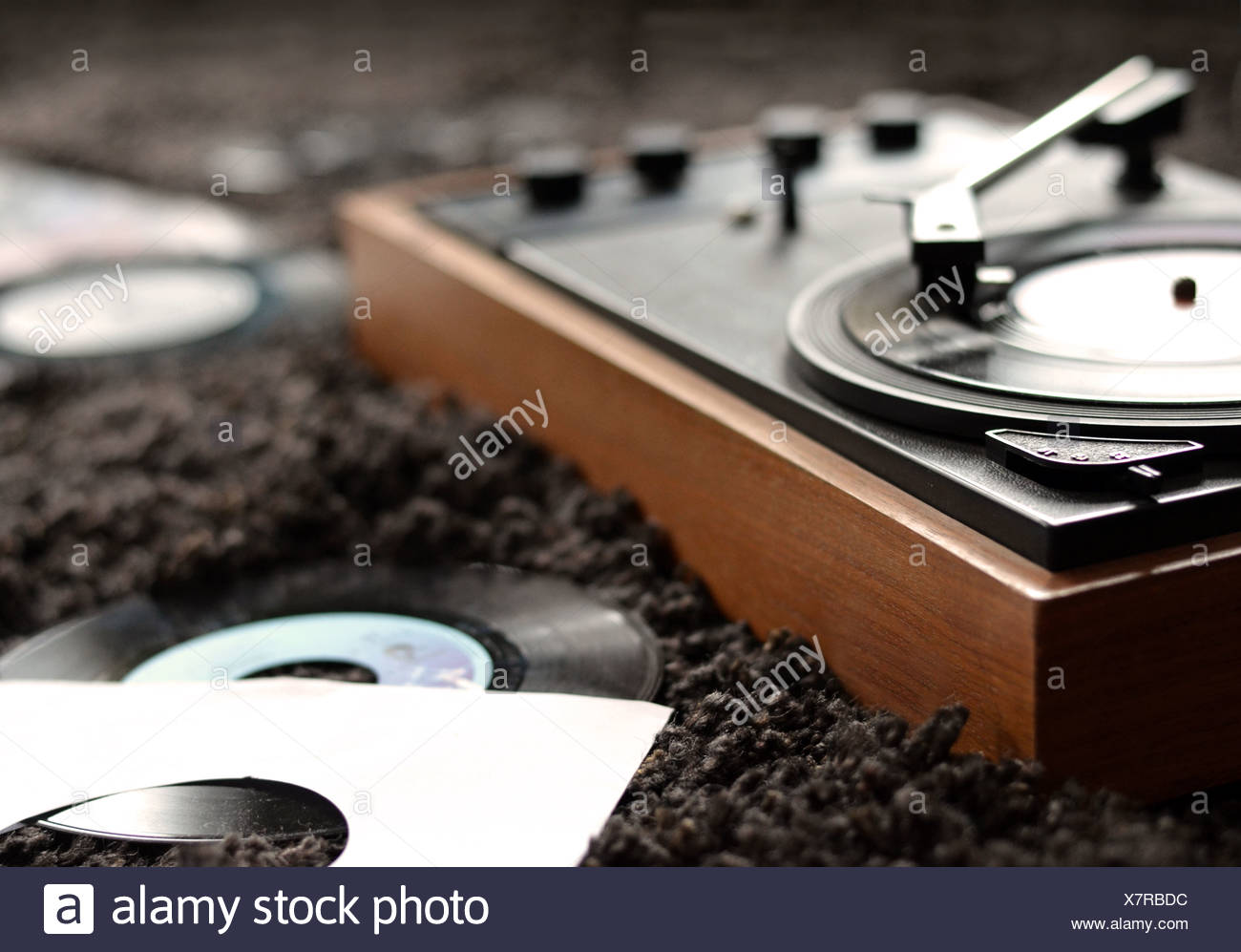 music,record,record player - Stock Image