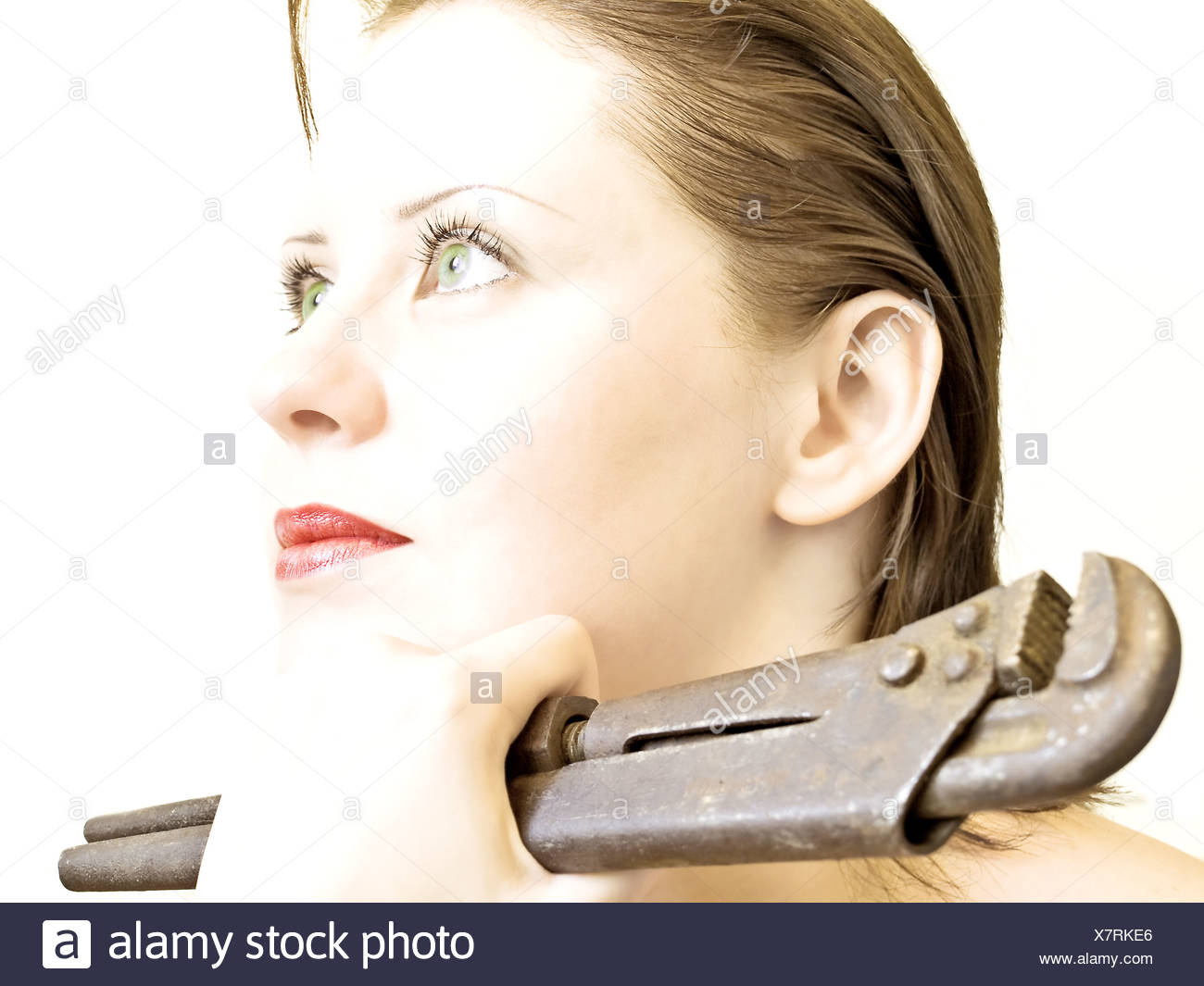 waiting for a husband - Stock Image
